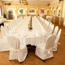 Diner tafel bruiloft